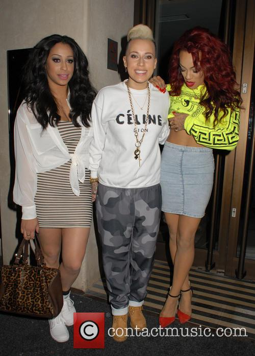 Alexandra Buggs, Karis Anderson, Courtney Rumbold and Stooshe 1