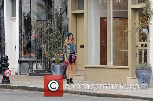 Cara Delevingne Filming For Pepe Jeans