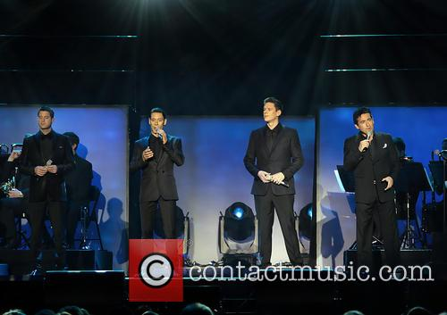 Il Divo performing in Liverpool