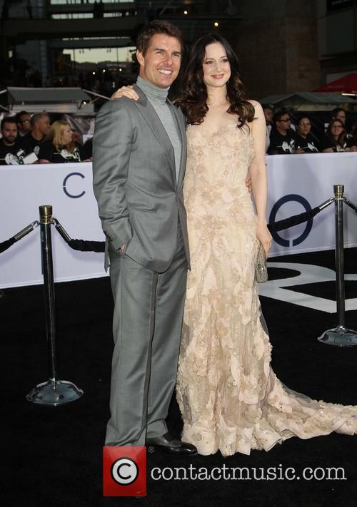Tom Cruise, Andrea Riseborough, TCL Chinese Theatre