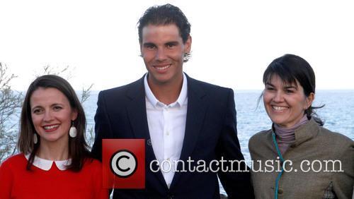 Tennis Player Rafael Nadal At A Presentation