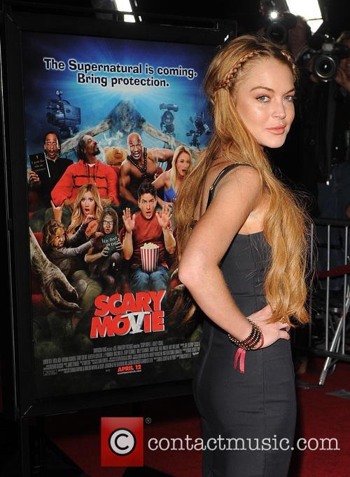 Lindsay Lohan Scary Movie Prem