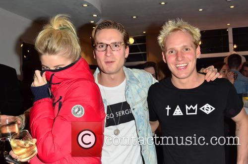 Serge De Nimes and Oliver Proudlock party