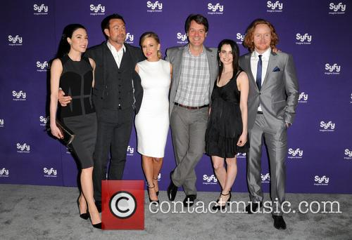Jaime Murray, Grant Bowler, Julie Benz, Kevin Murphy, Mia Kirshner and Tony Curran 5