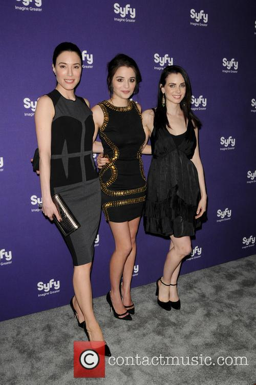 Jaime Murray, Mia Kirshner and Stephanie Leonidas 3