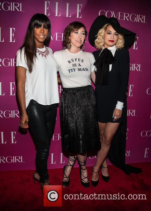 Kelly Rowland, Martha Wainwright and Rita Ora 2