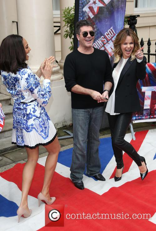 Amanda Holden, Simon Cowell and Alesha Dixon 7