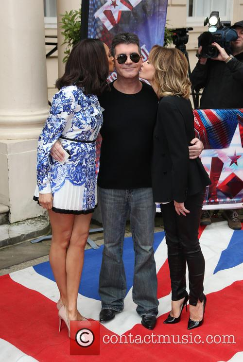 Amanda Holden, Simon Cowell and Alesha Dixon 9