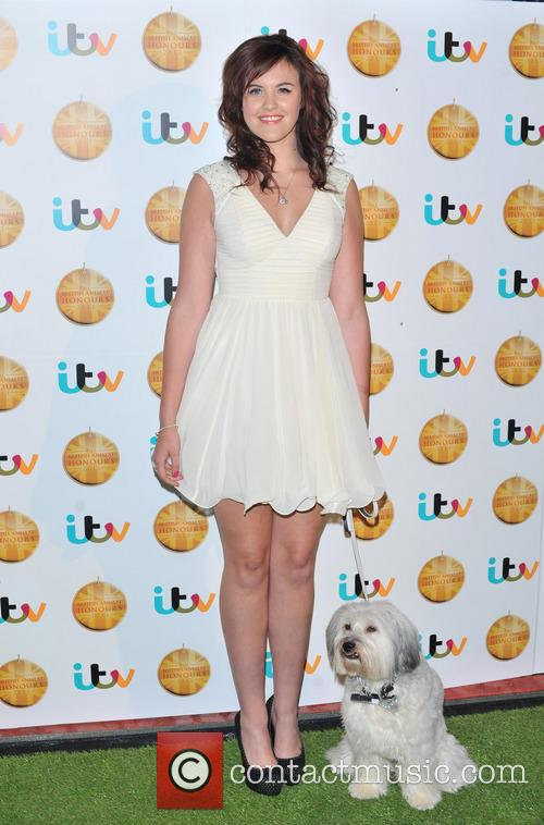 Ashleigh and Dog Pudsey 2