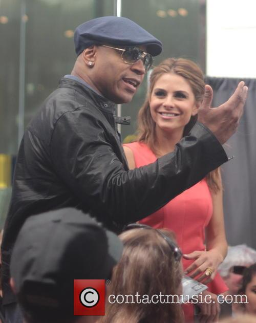 Maria Menounos and Ll Cool J Aka James Todd Smith 4