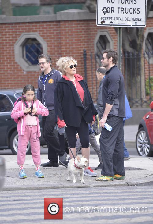 Hugh Jackman, Ava Eliot Jackman and Deborra-lee Furness 7