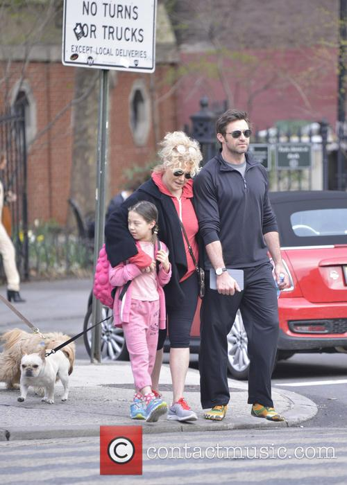 Hugh Jackman, Ava Eliot Jackman and Deborra-lee Furness 9