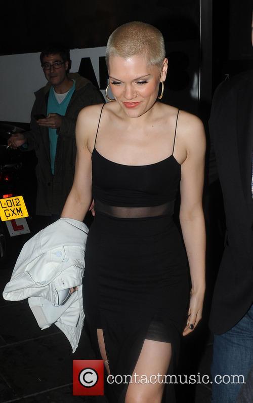 Jessie J Leaves Apartment 58 Club