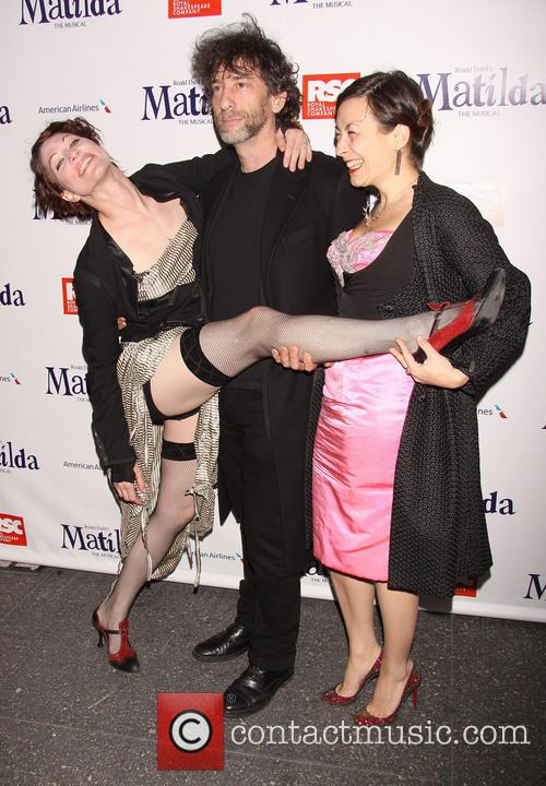 Amanda Palmer, Neil Gaiman and Maria Dahvana Headely 4