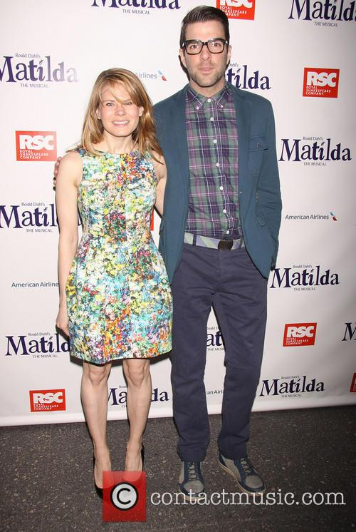 Celia Keenan-bolger and Zachary Quinto 2