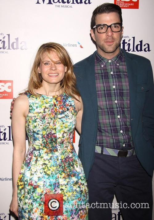Celia Keenan-bolger and Zachary Quinto 1