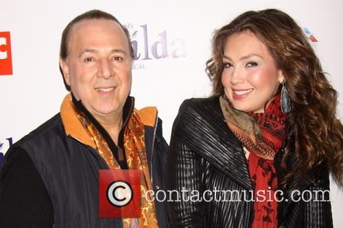 Thalia and Tommy Mottola 2
