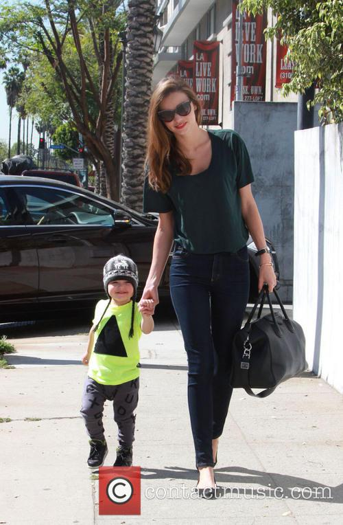 Miranda Kerr and Flynn Christopher Blanchard Copeland Bloom 2