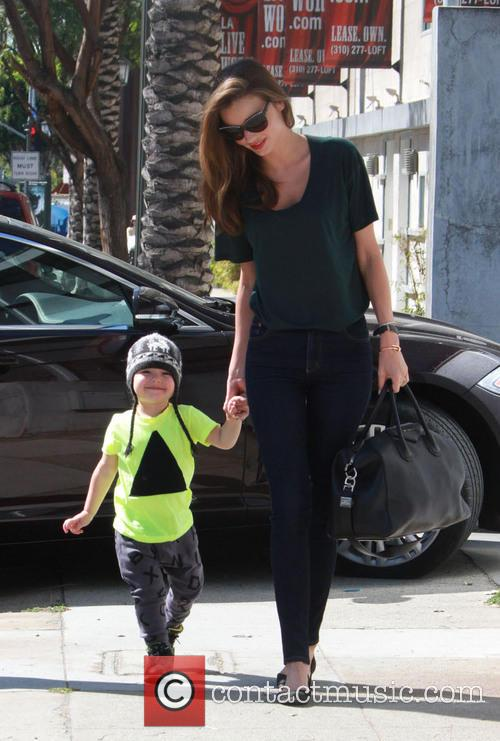 Miranda Kerr and Flynn Christopher Blanchard Copeland Bloom 4