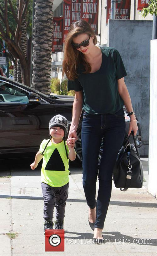 Miranda Kerr and Flynn Christopher Blanchard Copeland Bloom 5