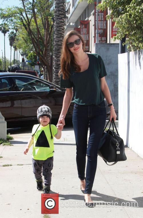 Miranda Kerr and Flynn Christopher Blanchard Copeland Bloom 9
