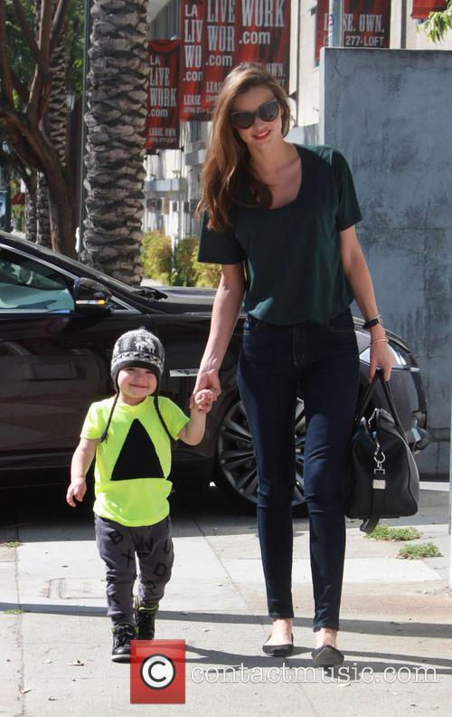 Miranda Kerr and Flynn Christopher Blanchard Copeland Bloom 11
