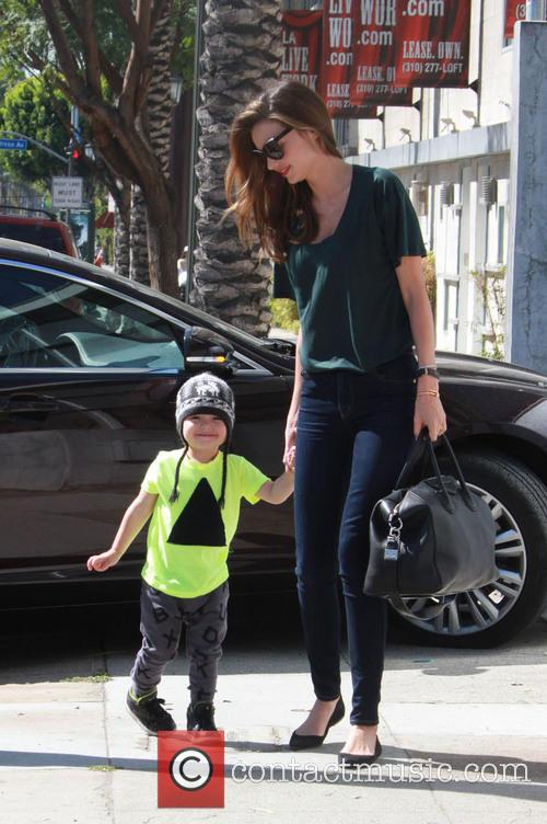Miranda Kerr and Flynn Christopher Blanchard Copeland Bloom 1