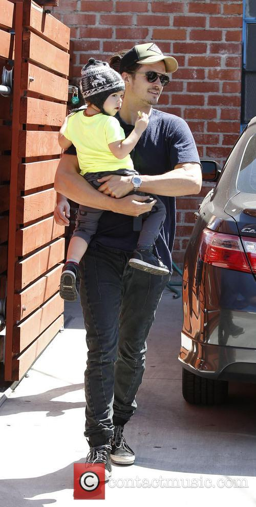 Orlando Bloom and Flynn Christopher Blanchard Copeland Bloom 2