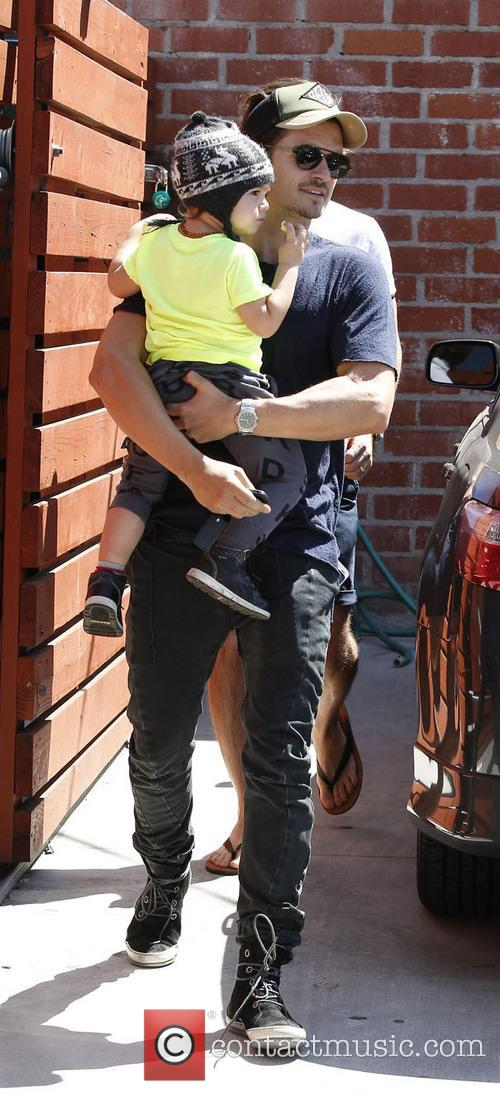 Orlando Bloom and Flynn Christopher Blanchard Copeland Bloom 5