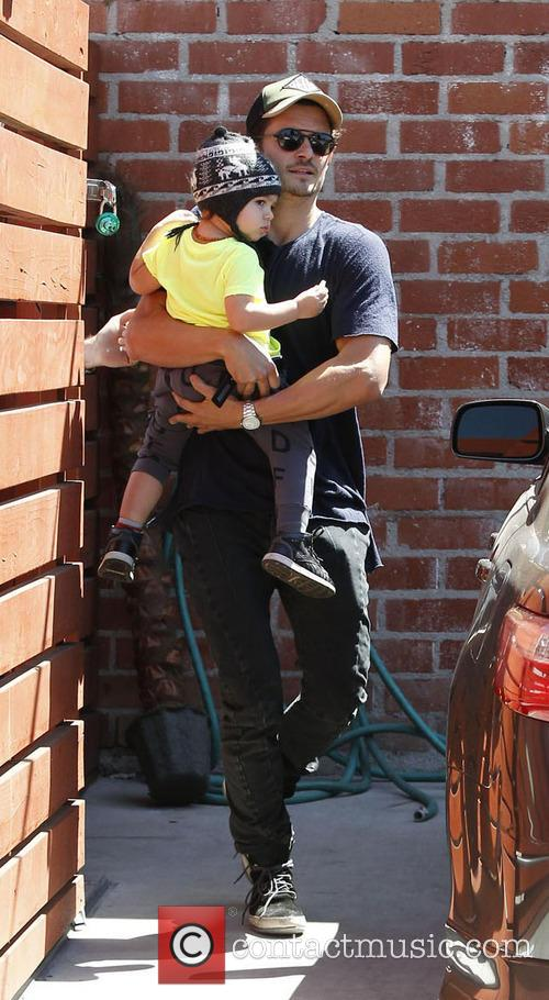 Orlando Bloom and Flynn Christopher Blanchard Copeland Bloom 7