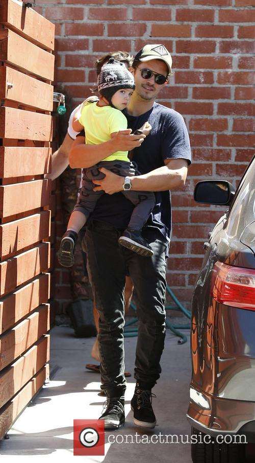 Orlando Bloom and Flynn Christopher Blanchard Copeland Bloom 9