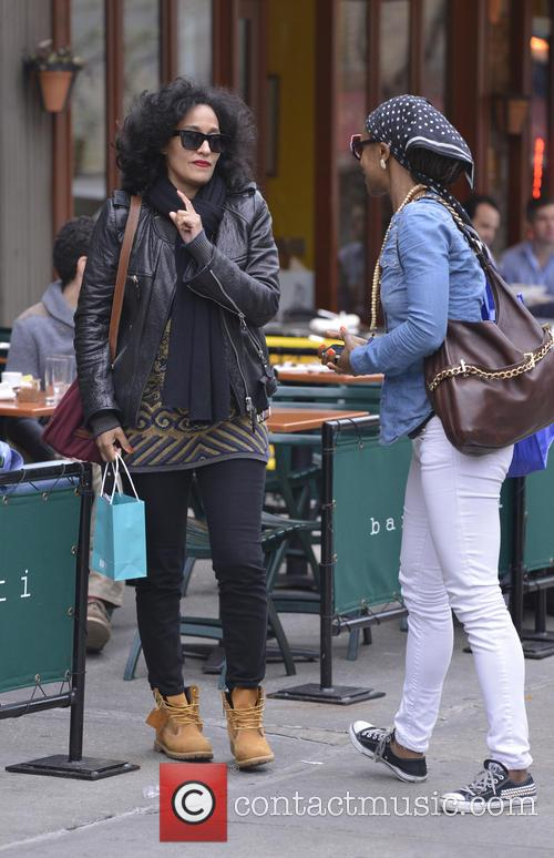 Tracee Ellis Ross lunch