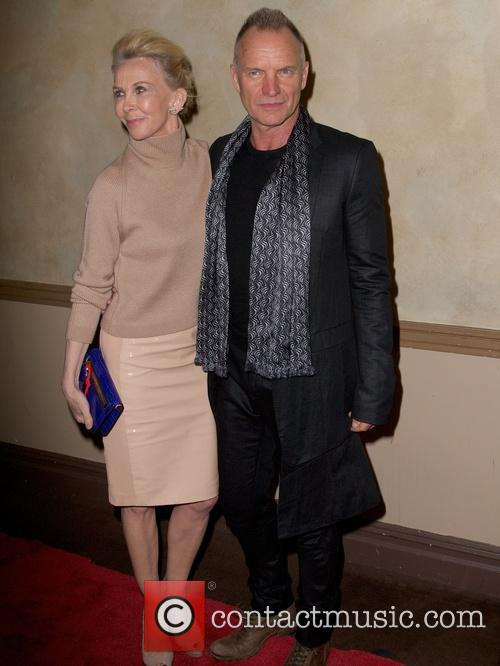 Trudie Styler and Sting Styler 3