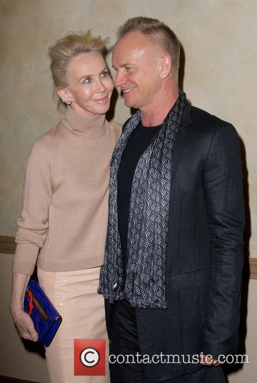 Trudie Styler and Sting Styler 5