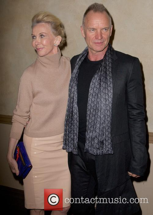 Trudie Styler and Sting Styler 6