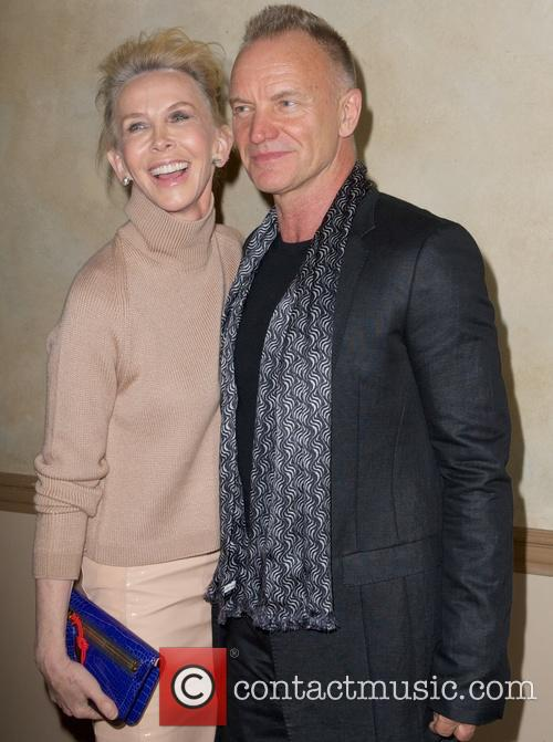 Trudie Styler and Sting Styler 7