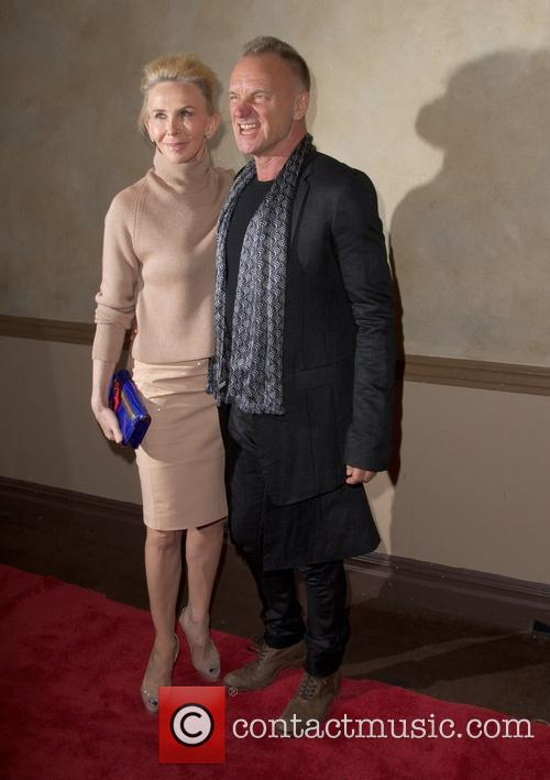Trudie Styler and Sting Styler 8