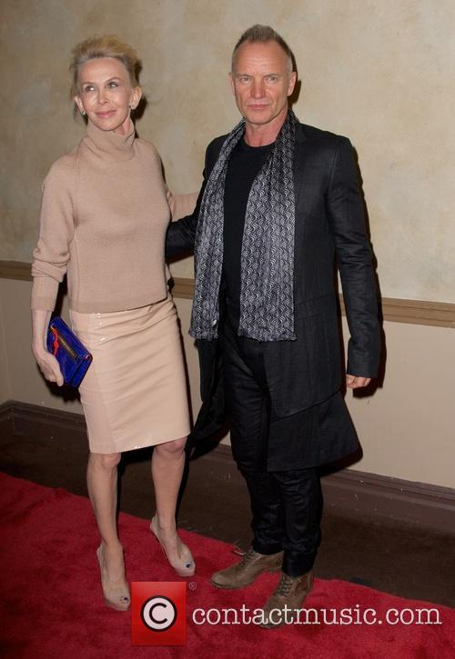 Trudie Styler and Sting Styler 9