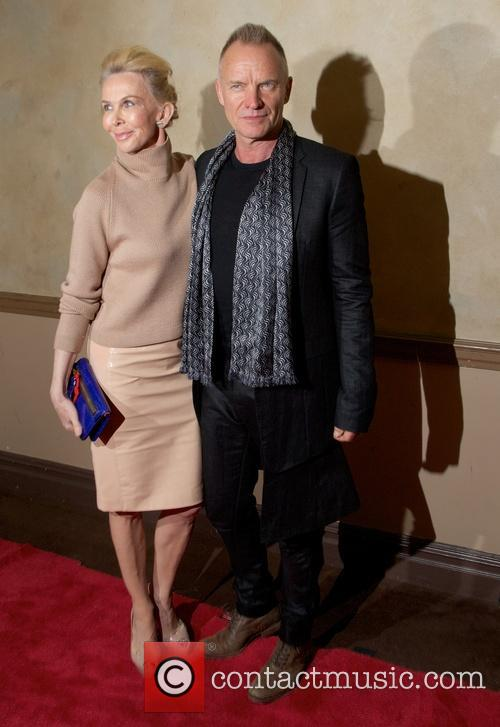Trudie Styler and Sting Styler 10