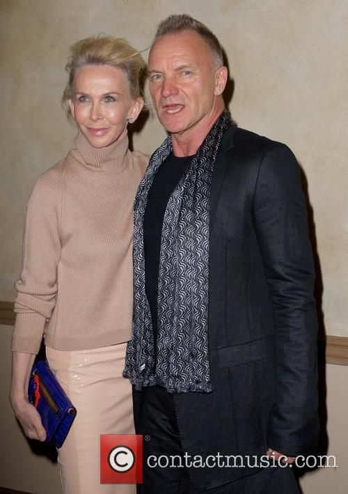 Trudie Styler and Sting Styler 1