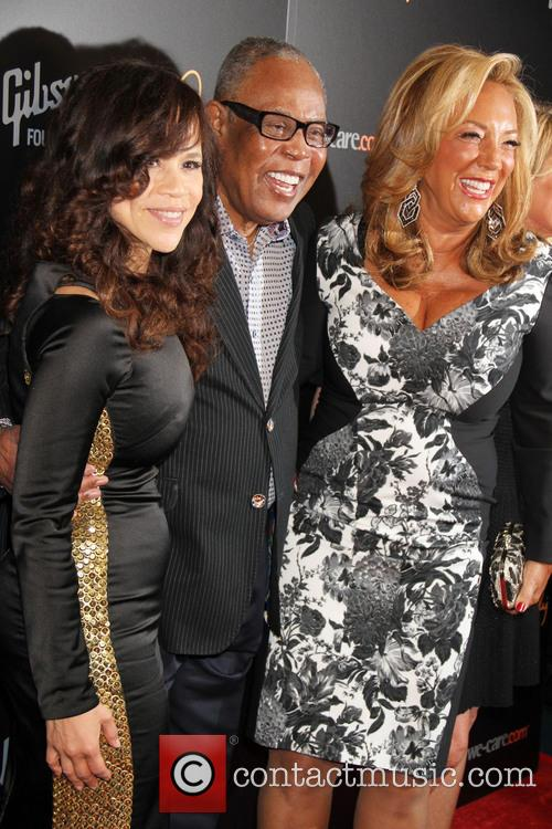 Sam Moore, Rosie Perez and Denise Rich 2