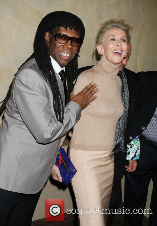 Trudie Styler, Nile Rodgers, Manahatta Center Grand ballroom