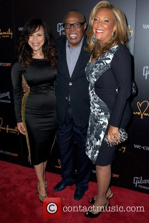 Rosie Perez, Sam Moore and Denise Rich 11