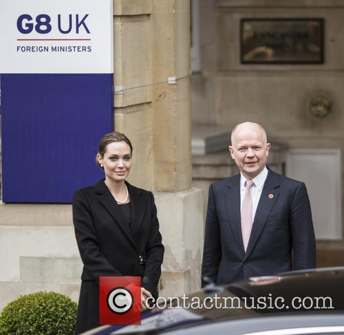 Angelina Jolie and William Hague 4