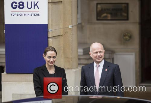 Angelina Jolie and William Hague 6