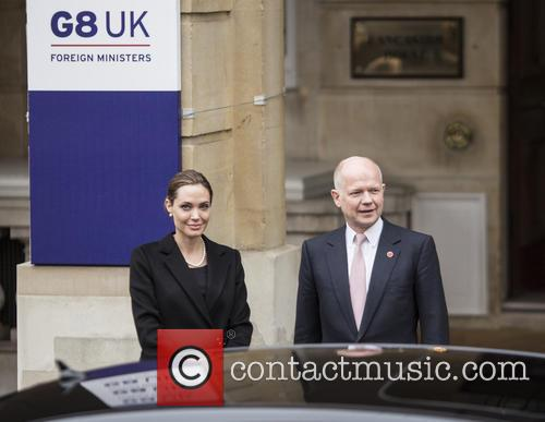 Angelina Jolie and William Hague 7