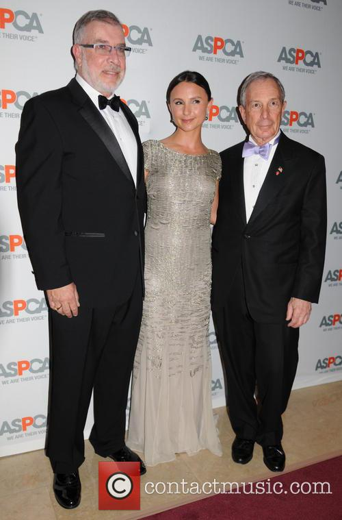 Ed Sayres, Georgina Bloomberg and Michael Bloomberg 2