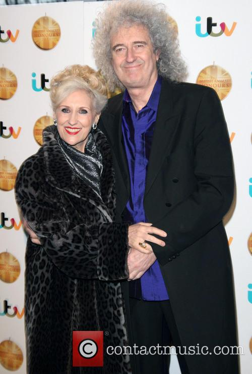 Anita Dobson and Brian May 3