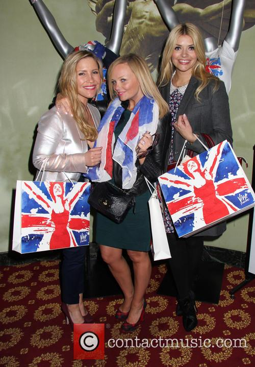 Holly Willoughby, Emma Bunton and Heidi Range 4