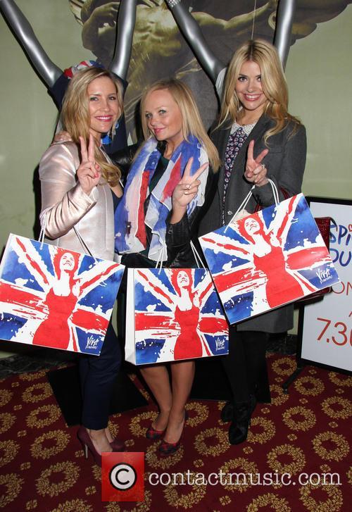 Holly Willoughby, Emma Bunton and Heidi Range 6
